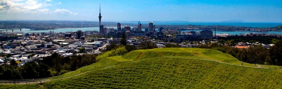 Auckland, syksyn 2010 maailmanympärimatkalla