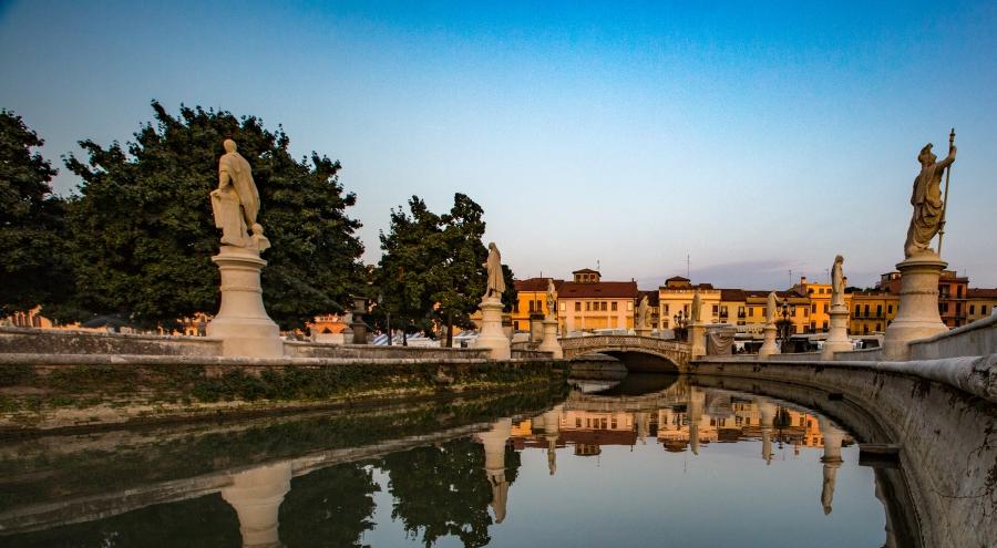 Ystävien askelia seuraten Padovaan, syyskuu2015