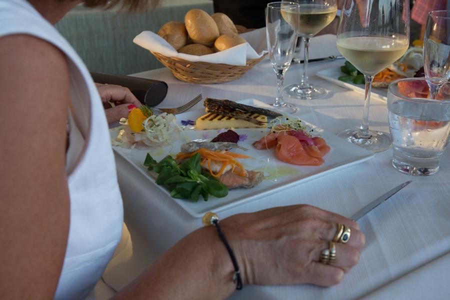Kesäruokaa Italiassa, kesäkuussa2015