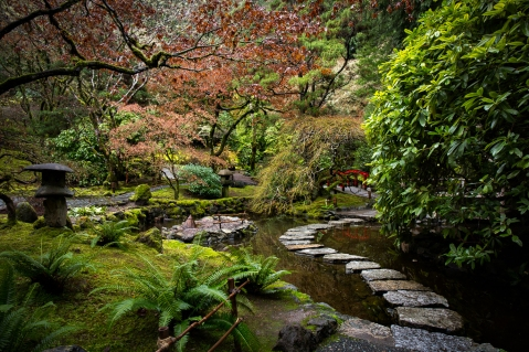 Buchart puutarha