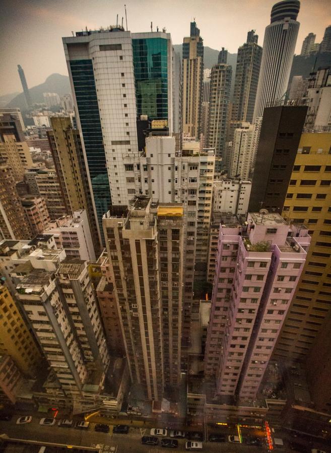 Hongkong – vuorisaari ja jyrkänne, yksi maailman ahtaimmistakaupungeista