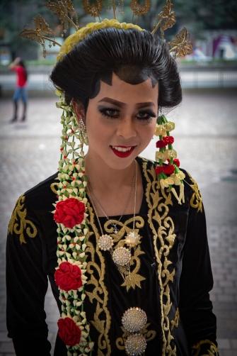 Kotiapulainen Indonesiasta viettamassa vapaapaivaa.