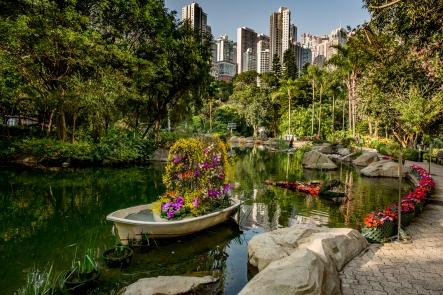 Hong Kong Parkin kukka-asetelma
