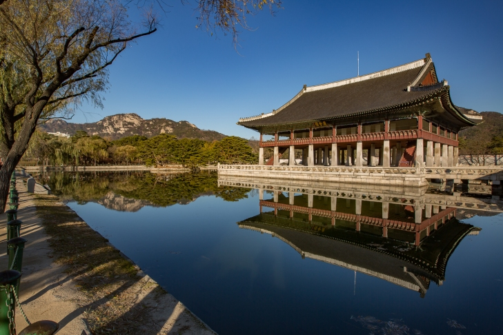 Royal palace in Seoul